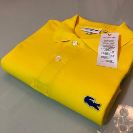 Camisa Polo Lacoste Limeted Edition Amarela