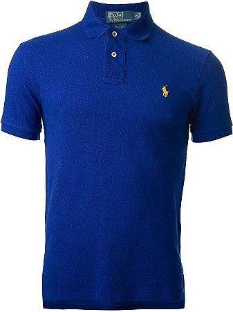Camisa Polo Ralph Lauren Custom-Fit Azul royal