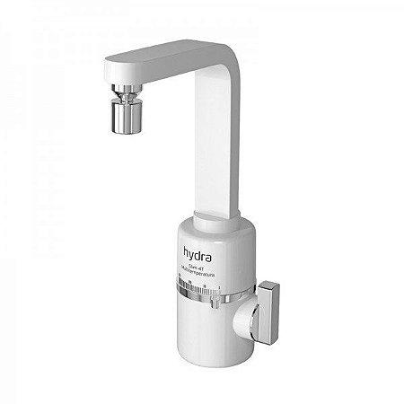 Torneira Elétrica Slim 4 Temperaturas De Bancada Branca