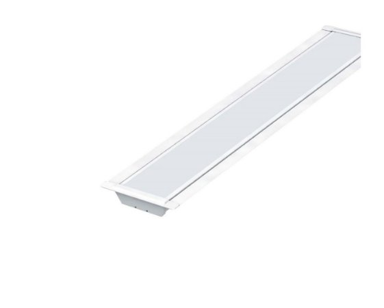 Luminária Led Taschibra TL Slim 10 De Embutir 20W 6500K