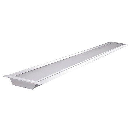 Luminária Led Taschibra TL Slim 20 De Embutir 35W  6500K Luz Branca