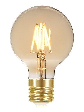 Lâmpada Filamento de Carbono Blumenox G80 40W E27