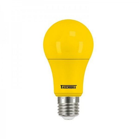 Lâmpada Led Taschibra TKL Colors 5W E27 Amarela