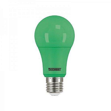 Lâmpada Led Taschibra TKL Colors 5W E27 Verde