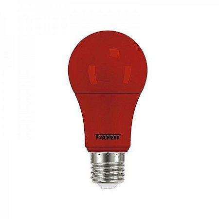 Lâmpada Led Taschibra TKL Colors 5W E27 Vermelha