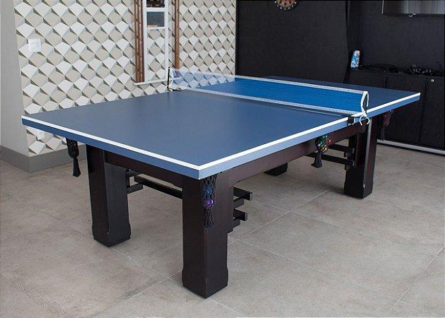 Mesa de Bilhar Hobby com Tampo de Ping Pong