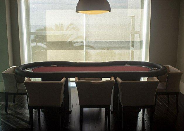 Mesa de Poker Master com Borda Estofada