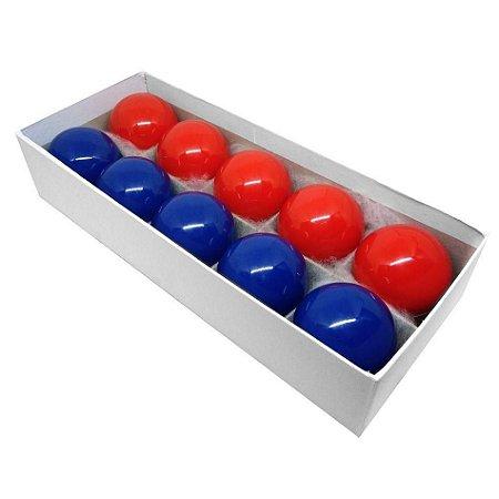 Jogo 10 bolas para mata mata - 54mm