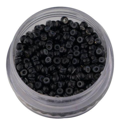 Nanolink MINI Com Silicone Interno - 100pcs Preto