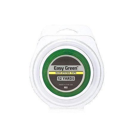 Fita Adesiva Front Lace Easy Green 1,27cm Largura x 12 Jardas