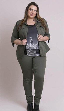 Conjunto Jaqueta e Calça Jeans