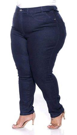 Calça Jeans Over Size com Elastano