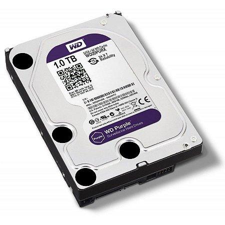 HD Sata Western Digital (WD) Purple 1TB - Sugerido pela Intelbras