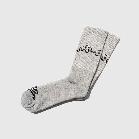 Socks Sufgang Arabic Cinza