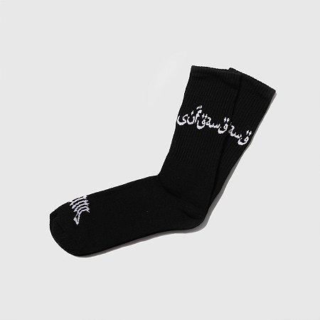 Socks Sufgang Arabic Preta