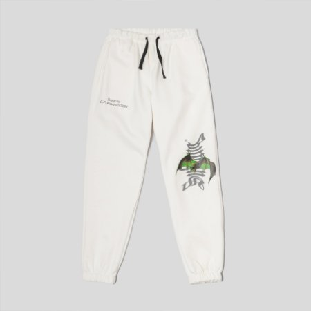 Sufgang Pants Skull of Darkness Off-White