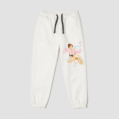Sufbabys Sweatpants Stripper Off-White