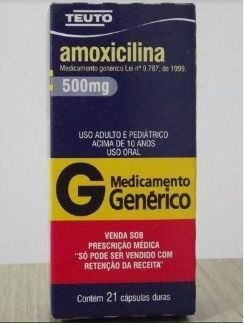 AMOXICILINA 500MG - CAIXA COM 21 CÁPSULAS