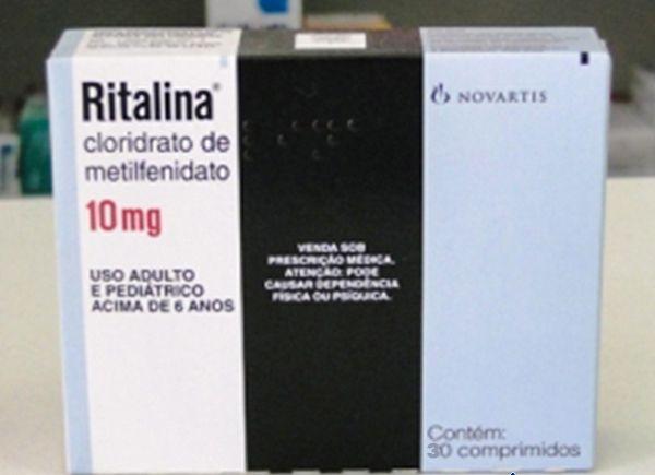 Ritalina 10mg 60comp NOVARTIS     30 COMPRIMIDOS