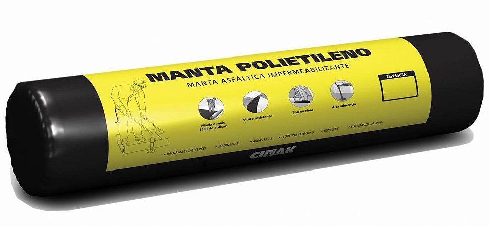 Manta Asfáltica Sem Alumínio Ciplak 3mm