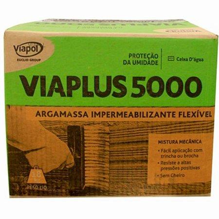 Impermeabilizante Viaplus 5000 18 Kg