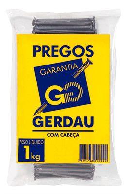 Prego Gerdau 17 x 27 c/c