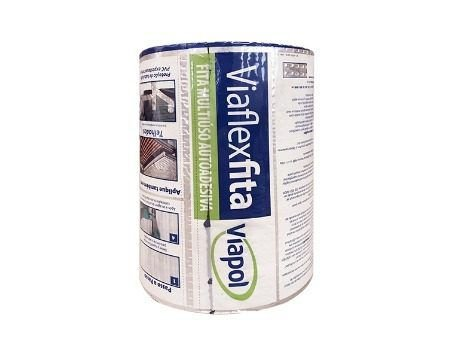 Manta Adesiva Viapol Aluminio 30cm