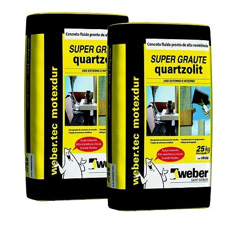 Argamassa Quartzolit Supergraute 25 Kg