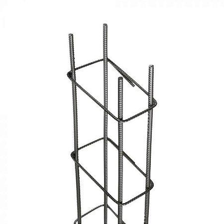 Coluna Soldada 3/8 - 6m - 7x17