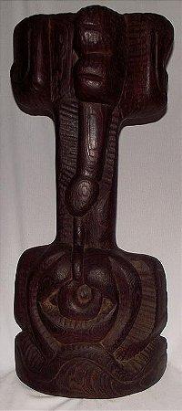 Escultura em Madeira - Shikhani