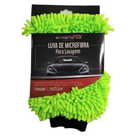 LUVA DE MICROFIBRA PARA LAVAGEM 24X25.5CM – AUTOAMERICA