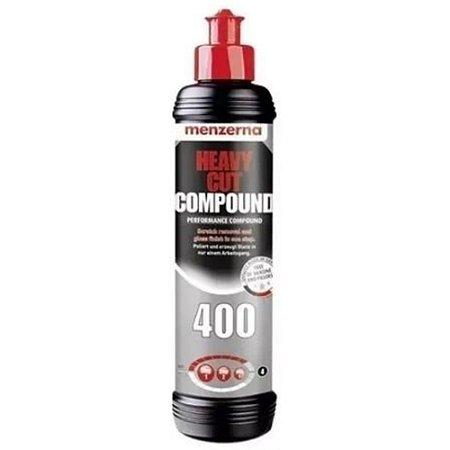 HEAVY CUT 400 COMPOUND COMPOSTO POLIDOR CORTE 250ML – MENZERNA