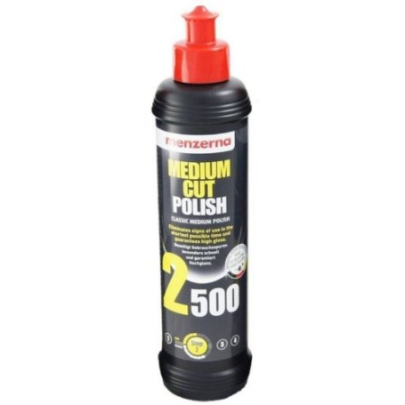 MEDIUM CUT 2500 POLISH COMPOSTO POLIDOR REFINO 250ML – MENZERNA