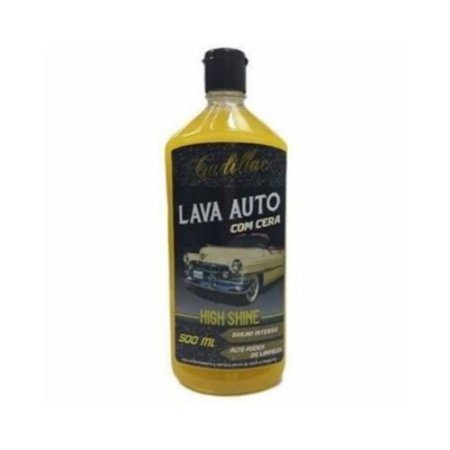 LAVA AUTOS HIGH SHINE COM CERA 500ML – CADILLAC