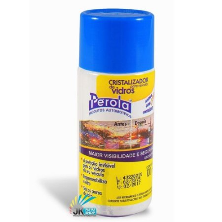 CRISTALIZADOR DE VIDROS 100ML - PÉROLA