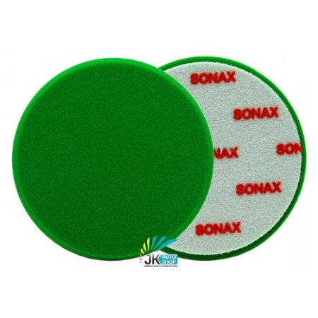 BOINA DE ESPUMA VERDE 160MM 6″ - SONAX
