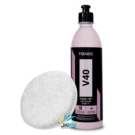 KIT V40 VONIXX + APLICADOR DE MICROFIBRA MANDALA/DETAILER