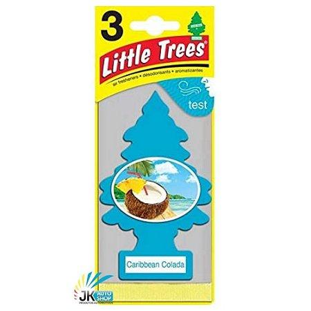 AROMATIZANTE LITTLE TREES - CARIBBEAN COLADA