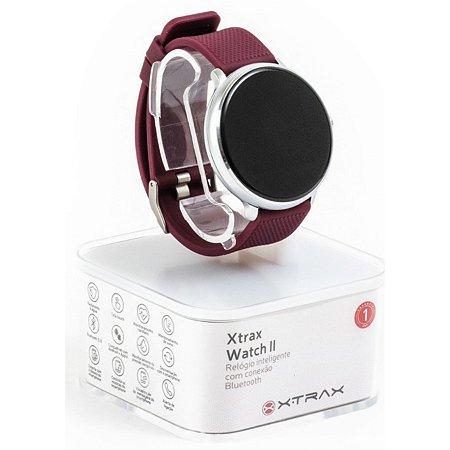 Relógio Xtrax Smartwatch II Vinho