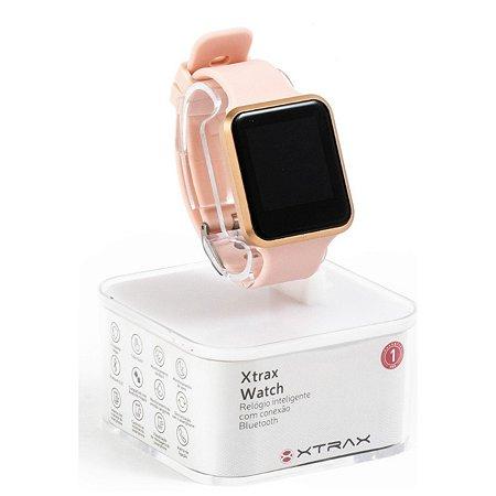 Relógio Xtrax Smartwatch Rose