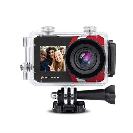 Câmera De Ação Xtrax Selfie Preta