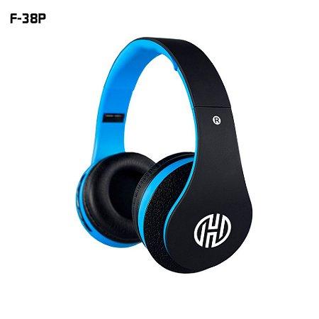 HEADPHONE BLUETOOTH HOOPSON F-038P Azul
