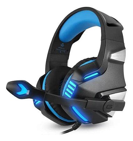 HEADSET GAMER VERDE EJ-903