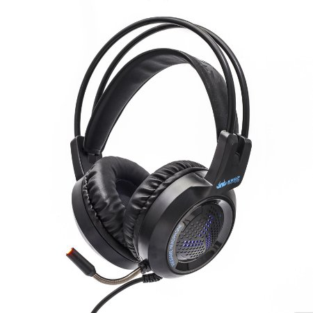 HEADSET GAMER KNUP BASS VIBRATION 7.1 KP-430