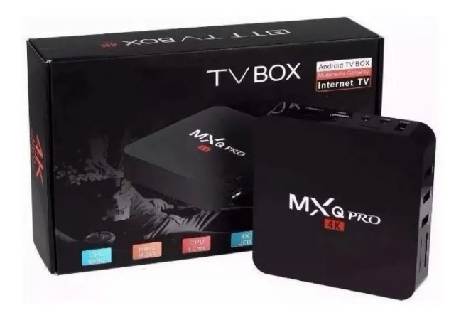 TV BOX MXQ PRO ANDROID 9.1