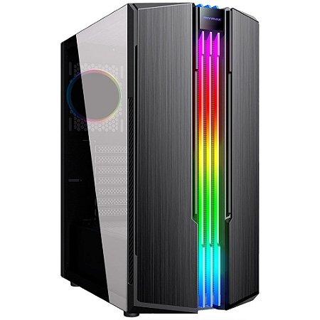 GABINETE GAMER ETERNITY USB 3.0 PRETO- RGB (MCA-ETERNITY/ RGB)