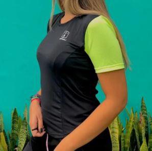 Camisa Ahau T-Shirt preta Enduro Feminina