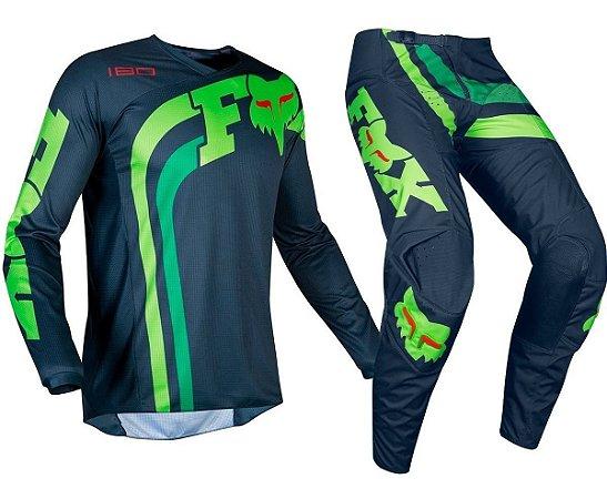 Conjunto Calça + Camisa Fox 180 Cota 2019