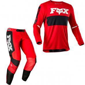 Conjunto Calça + Camisa FOX 360 - Vermelho