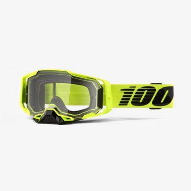 Oculos 100% Armega - Lente Cristal - Verde Fluor
